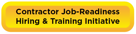 contractor job-readiness hiring and training initiative